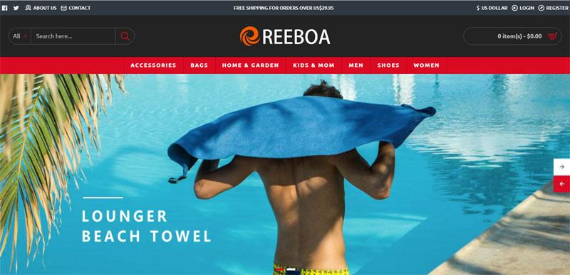 reeboa com main page