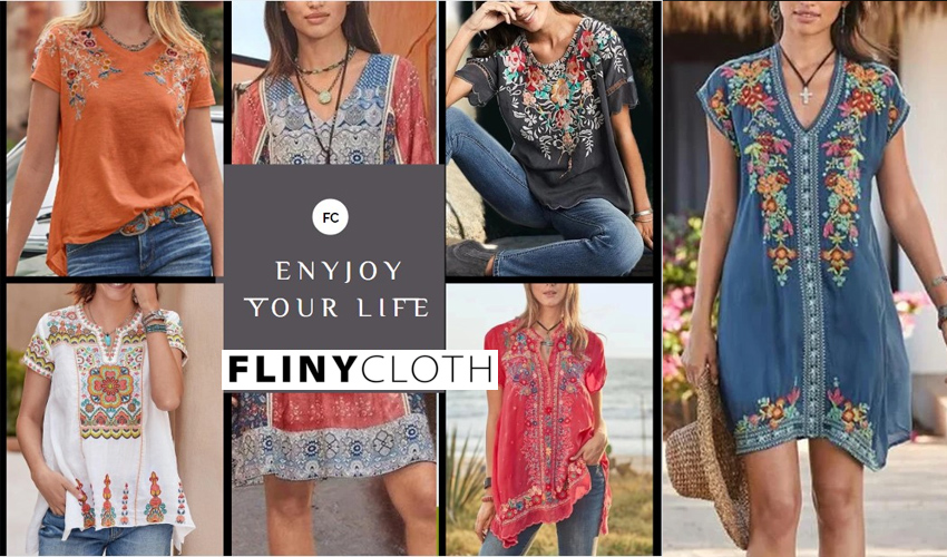 flinycloth website header