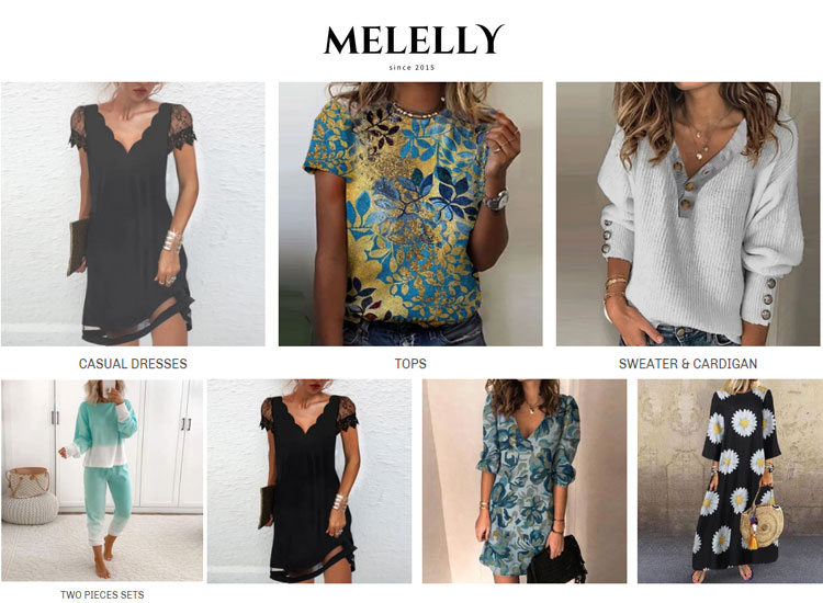 melelly women clothing
